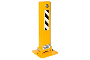 Double Post Screw Lock Collapsible Bollards