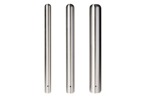 Stainless Steel Drop In Non-Locking Removable Bollards