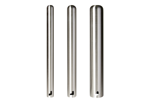 Stainless Steel Twist In Removable Bollards