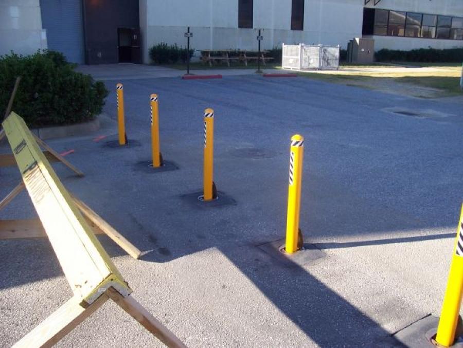 TrafficGuard, Inc Round Post Lock - Bollards removable Fort Benning, GA