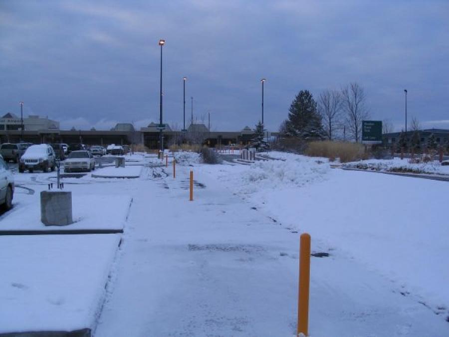 TrafficGuard, Inc Round Post Twist In - Traffic control barriers Glacier Park International Airport