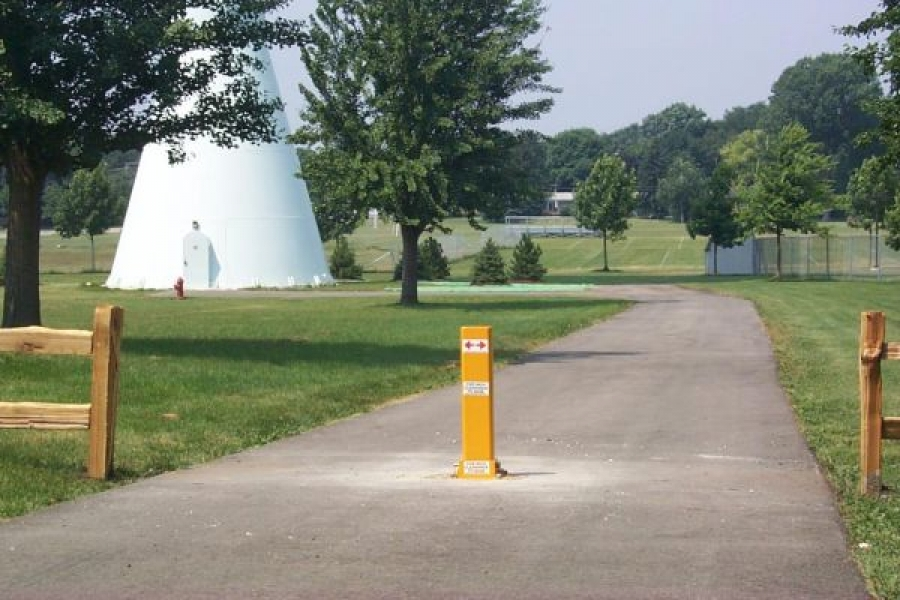 TrafficGuard, Inc Single Post - Removable Post Water Tower Access, Geneva, IL