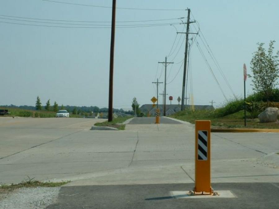 TrafficGuard, Inc Single Post - Pedestrian Trail, West LaFayette, IN