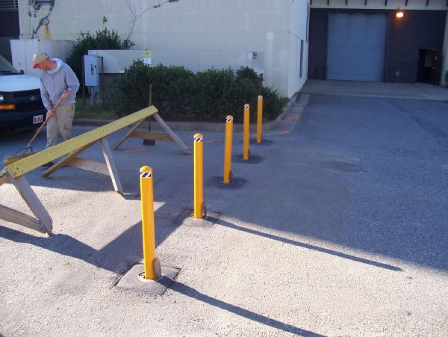 TrafficGuard, Inc Round Post Lock - Metal bollards Fort Benning, GA