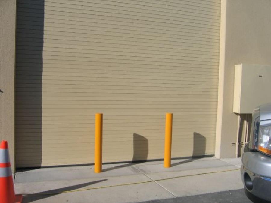 TrafficGuard, Inc Round Post Key Lock - Security bollards Ram Raiding Protection