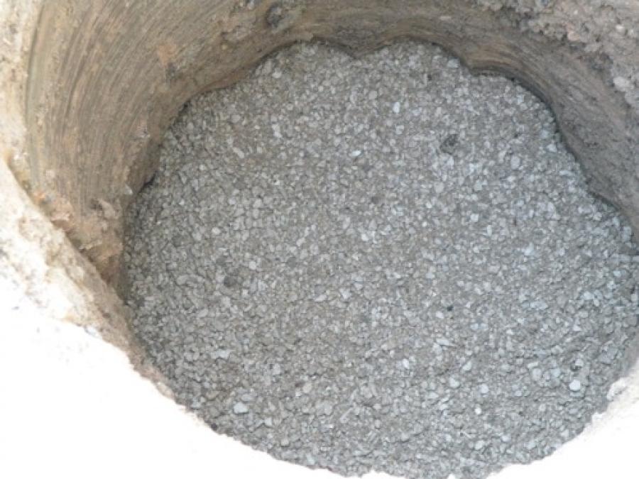 Step 3: Set Gravel Drainage Base