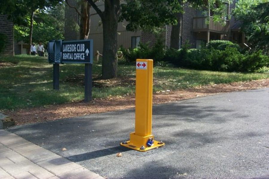 TrafficGuard, Inc Single Post - Vehicle barriers Apartment Complex