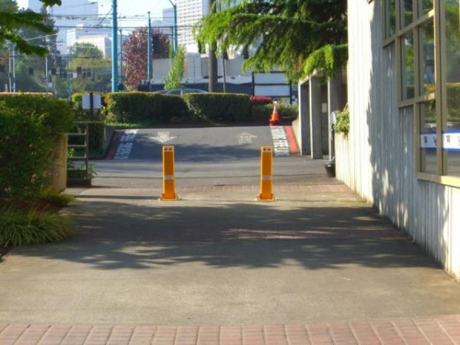 TrafficGuard, Inc Single Post - Removable pipe bollard Marinas